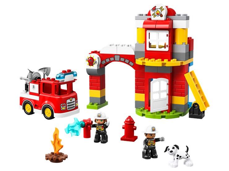 LEGO DUPLO Town Fire Station 10903  építőjáték - Brendon - 22149301