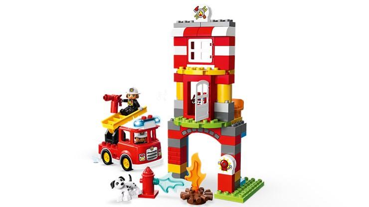 LEGO DUPLO Town Fire Station 10903  építőjáték - Brendon - 22149401