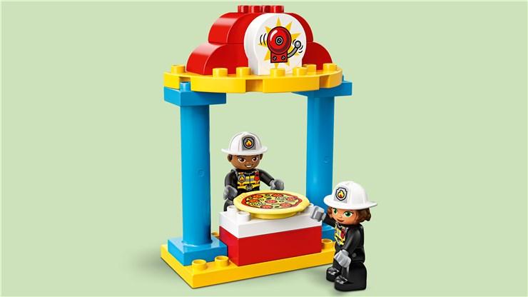 LEGO DUPLO Town Fire Station 10903  építőjáték - Brendon - 22149501