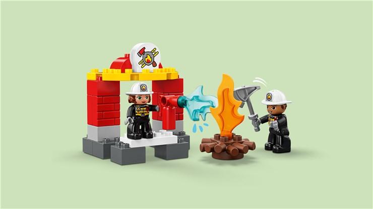 LEGO DUPLO Town Fire Station 10903  építőjáték - Brendon - 22149601