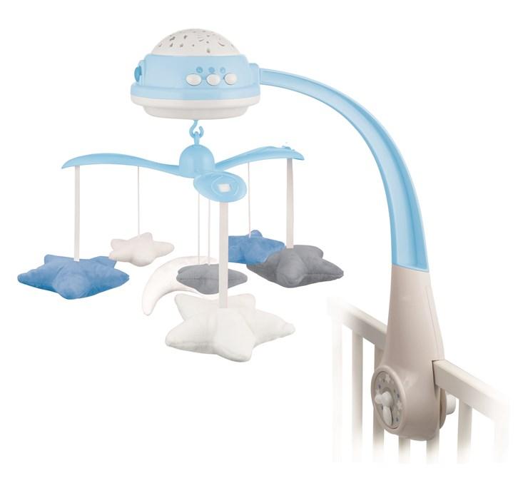 Canpol babies Musical Mobile with Projector  blue zenélő körforgó - Brendon - 22281601