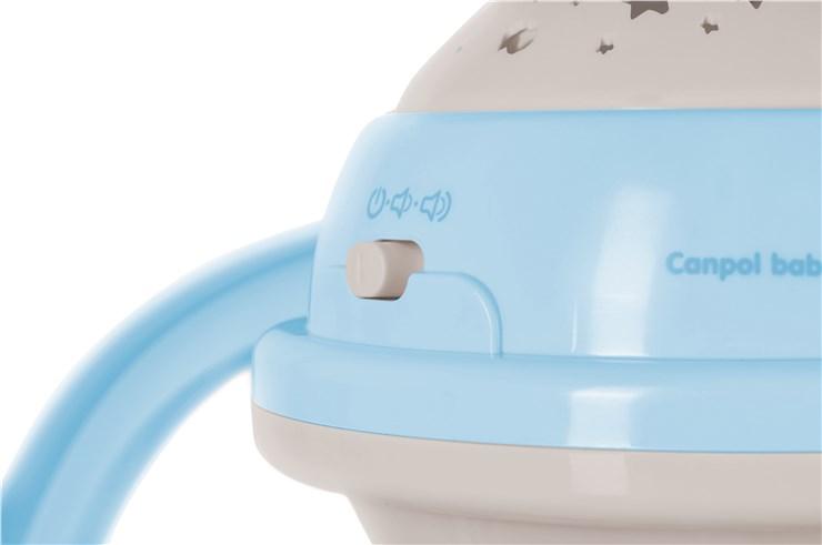 Canpol babies Musical Mobile with Projector  blue zenélő körforgó - Brendon - 22281701