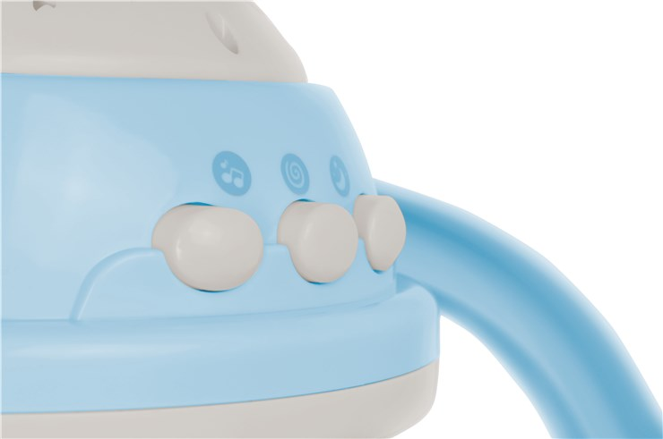 Canpol babies Musical Mobile with Projector  blue zenélő körforgó - Brendon - 22281801