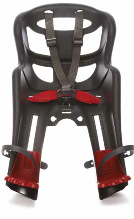 Bellelli Tatoo Dark Grey sedadlo na bicykel dopredu - Brendon - 22419902