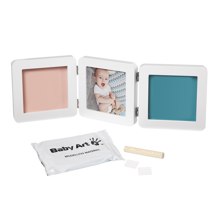 Baby Art My Baby Touch Double White fényképtartó - Brendon - 22496601