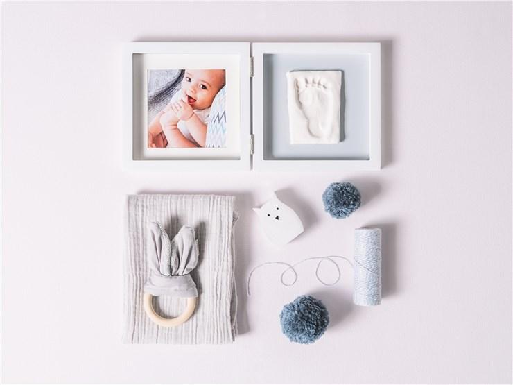 Baby Art My Baby Style Simple Grey fényképtartó - Brendon - 22497401
