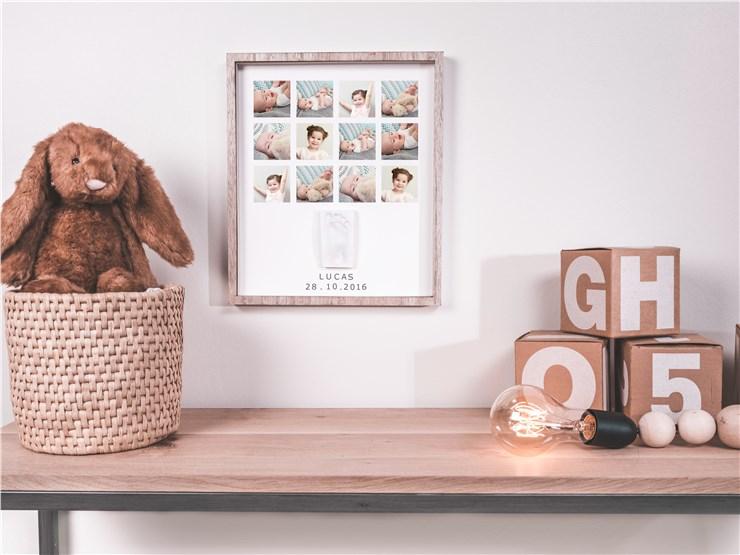 Baby Art My Very First Year Wooden  fényképtartó - Brendon - 22499901