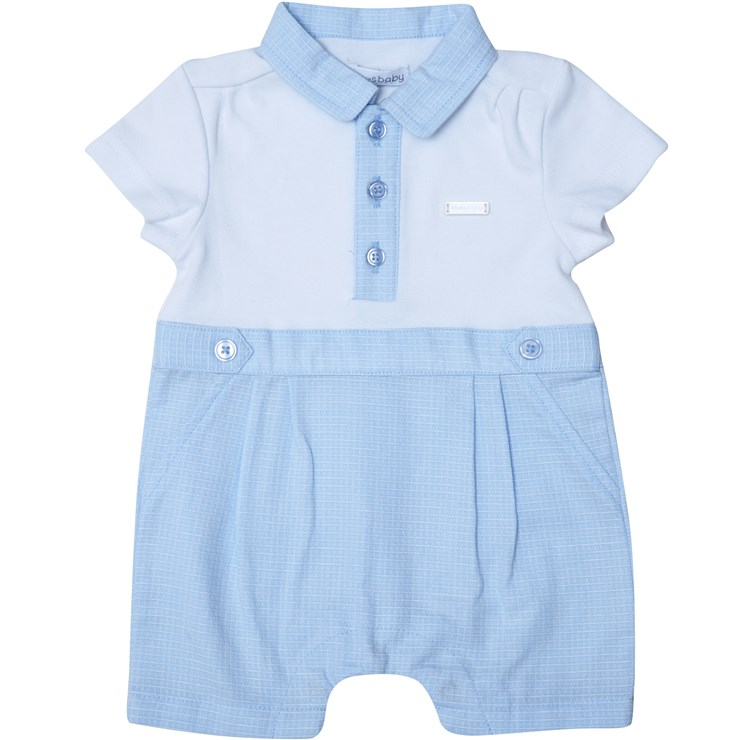 Bluesbaby RR0007 Blue-White napozó - Brendon - 22543701