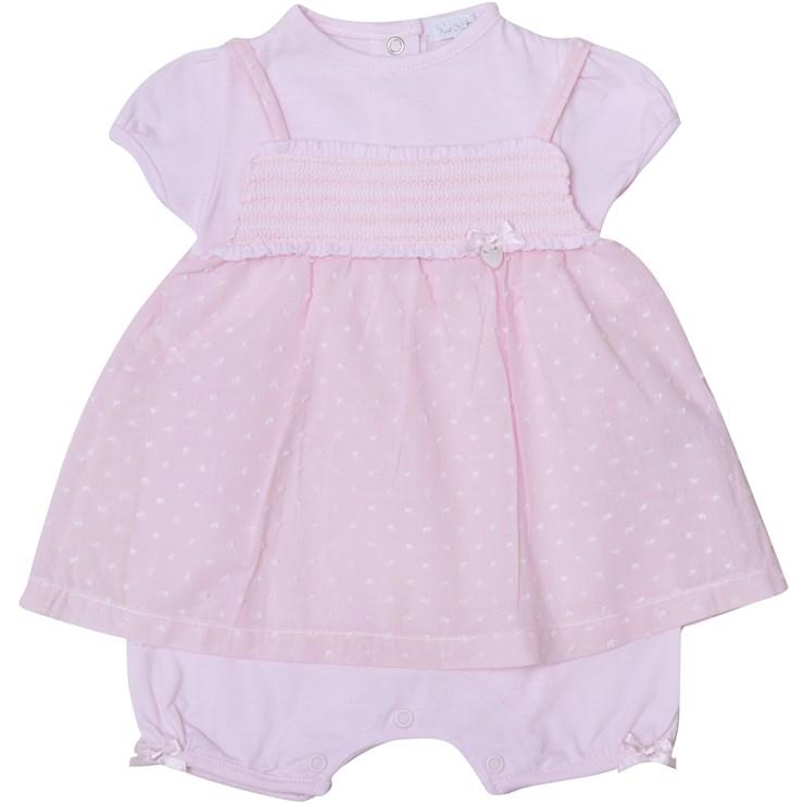 Bluesbaby RR0135/2pcs Pink 2 részes napozós garnitúra - Brendon - 22544701