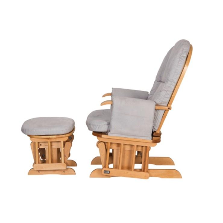 tutti Bambini Recliner Glider Natural szoptatós fotel - Brendon - 22560701