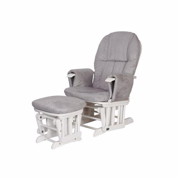 tutti Bambini Recliner Glider White kreslo na odpočívanie  - Brendon - 22561002