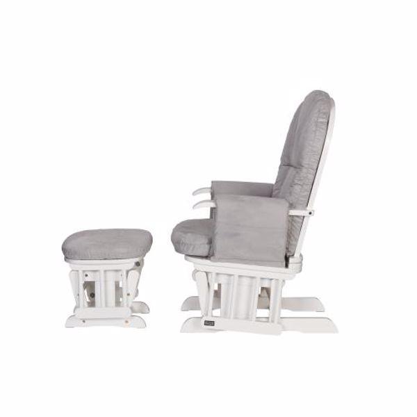 tutti Bambini Recliner Glider White kreslo na odpočívanie  - Brendon - 22561102