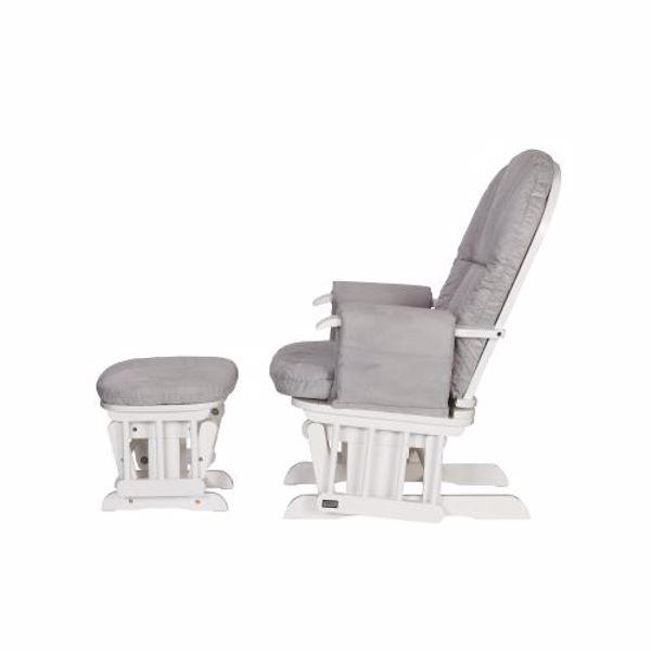 tutti Bambini Recliner Glider White szoptatós fotel - Brendon - 22561201