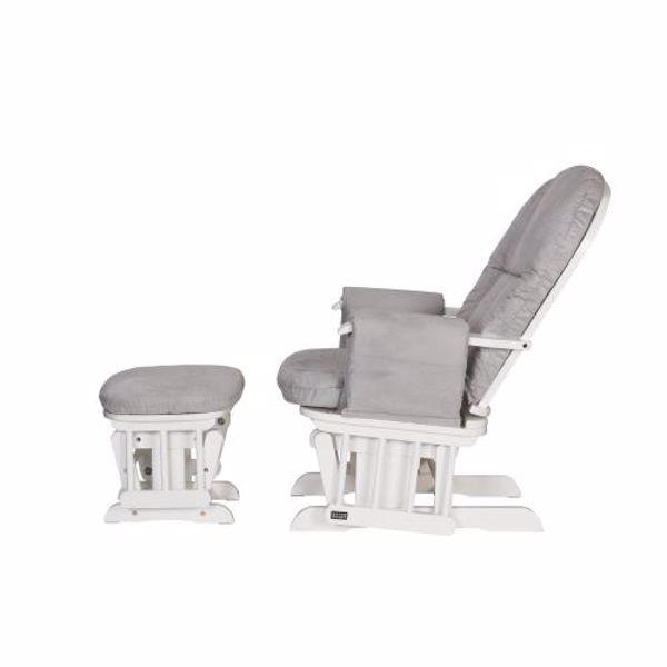 tutti Bambini Recliner Glider White szoptatós fotel - Brendon - 22561301