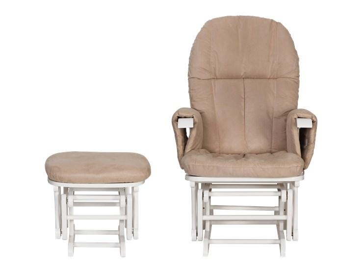 tutti Bambini Recliner Glider White-Cream kreslo na kojenie - Brendon - 22743702