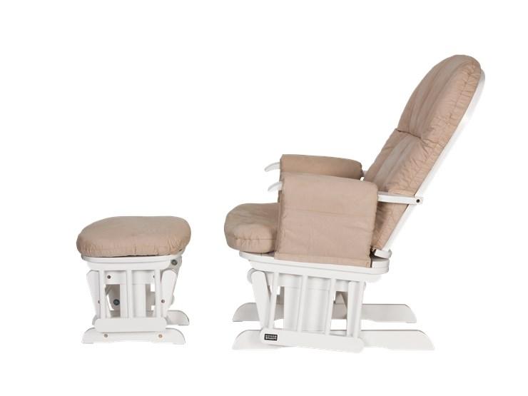 tutti Bambini Recliner Glider White-Cream kreslo na kojenie - Brendon - 22743802