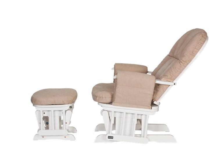 tutti Bambini Recliner Glider White-Cream kreslo na kojenie - Brendon - 22743902