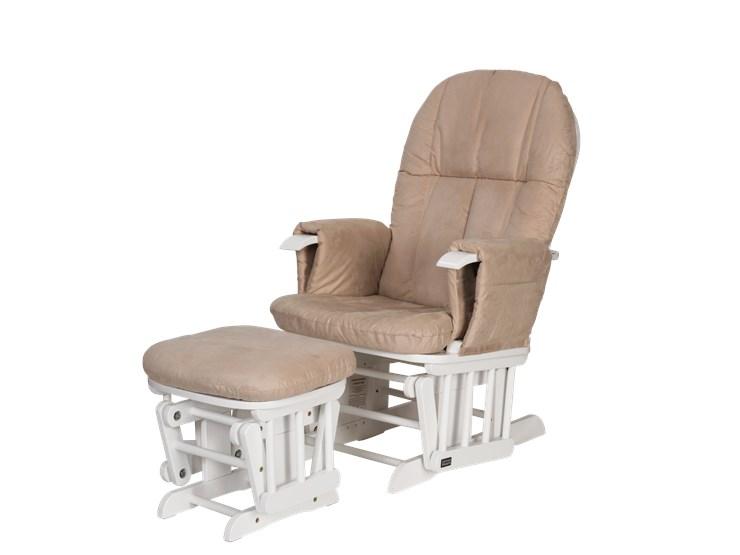 tutti Bambini Recliner Glider White-Cream kreslo na kojenie - Brendon - 22744002