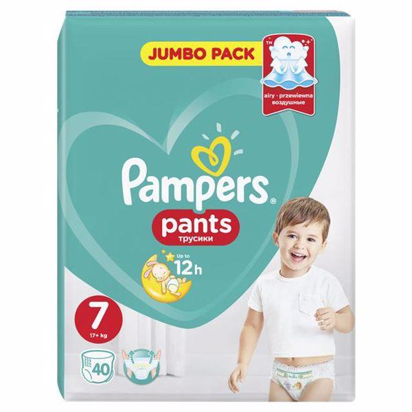 Pampers Pants Jumbo Pack S7 40 pcs  plienkové nohavičky - Brendon - 22820002