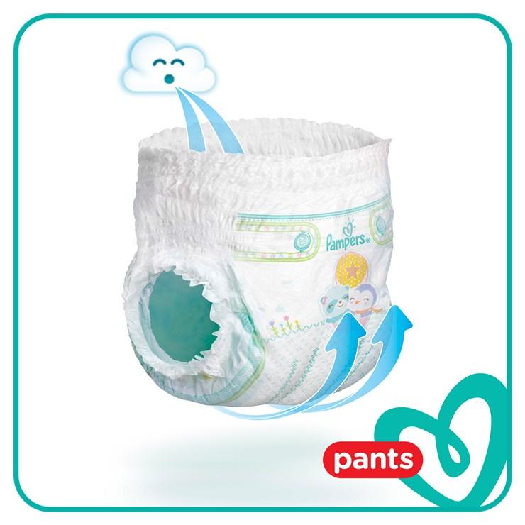 Pampers Pants Mega Box S7 80 pcs  plienkové nohavičky - Brendon - 22820702