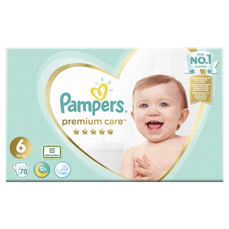 Pampers Premium Care Mega Box S6 78 pcs  eldobható pelenka - Brendon - 22827801