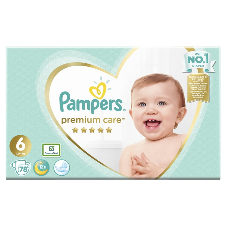 Pampers Premium Care Mega Box S6 78 pcs  jednorazové plienky - Brendon - 22827802