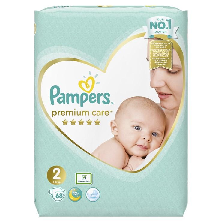 Pampers Premium Care Value Pack S2 68 pcs  jednorazové plienky - Brendon - 22830202