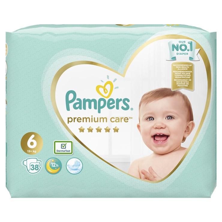 Pampers Premium Care Value Pack S6 38 pcs  eldobható pelenka - Brendon - 22830801