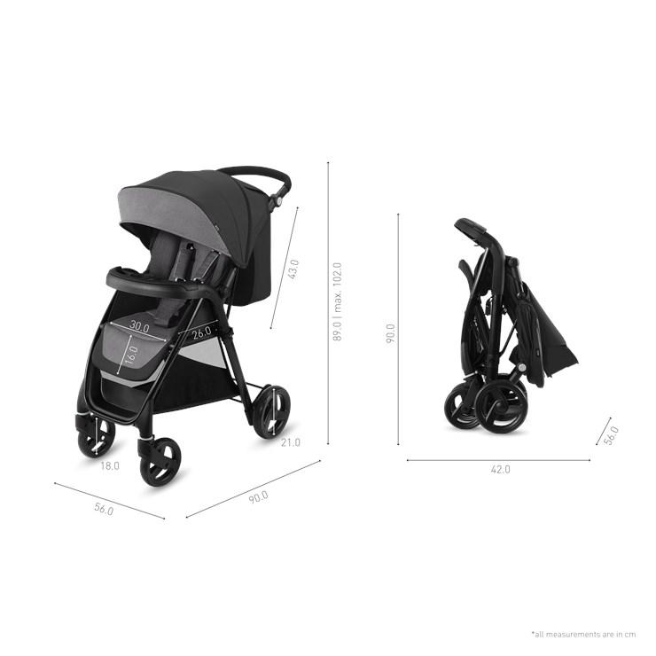 CBX Misu Comfy grey detský kočík - Brendon - 22842002