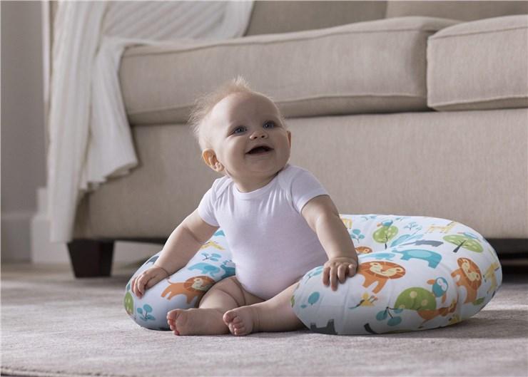 Boppy Nursing/SC Peaceful Jungle vankúš na kojenie - Brendon - 22916402