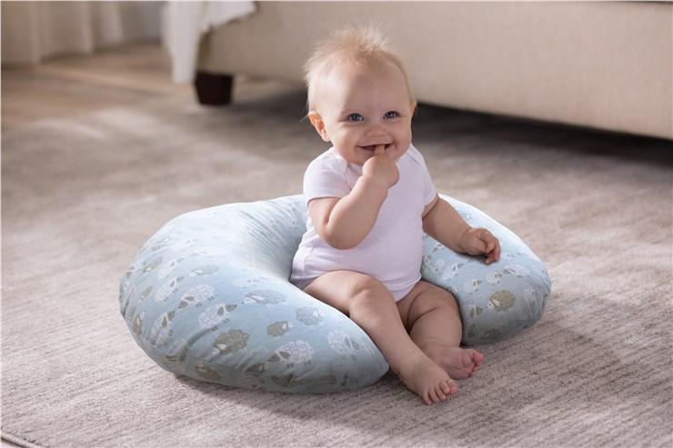 Boppy Nursing/SC Soft Sheep vankúš na kojenie - Brendon - 22916902