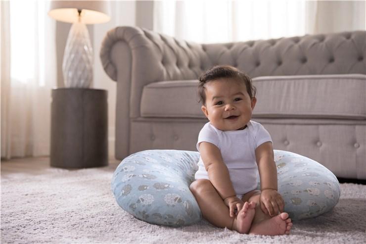 Boppy Nursing/SC Soft Sheep vankúš na kojenie - Brendon - 22917002