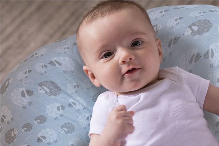 Boppy Nursing/SC Soft Sheep vankúš na kojenie - Brendon - 22917302