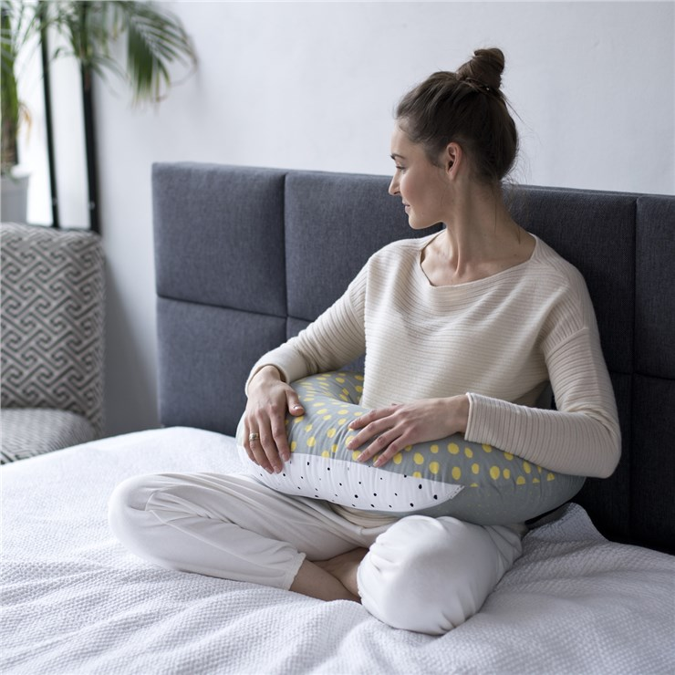 Motherhood Nursing Support Pillow Mustard Splashes vankúš na kojenie - Brendon - 22967202