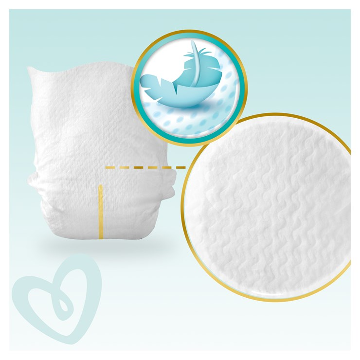 Pampers Premium Care Giant pack S3 Midi 80 pcs  jednorazové plienky - Brendon - 23047902