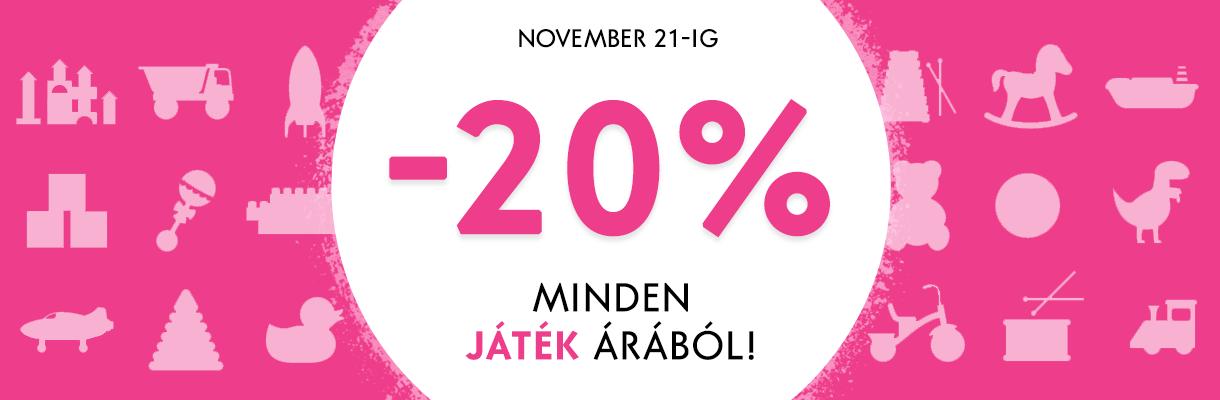 Játékok hete -20%