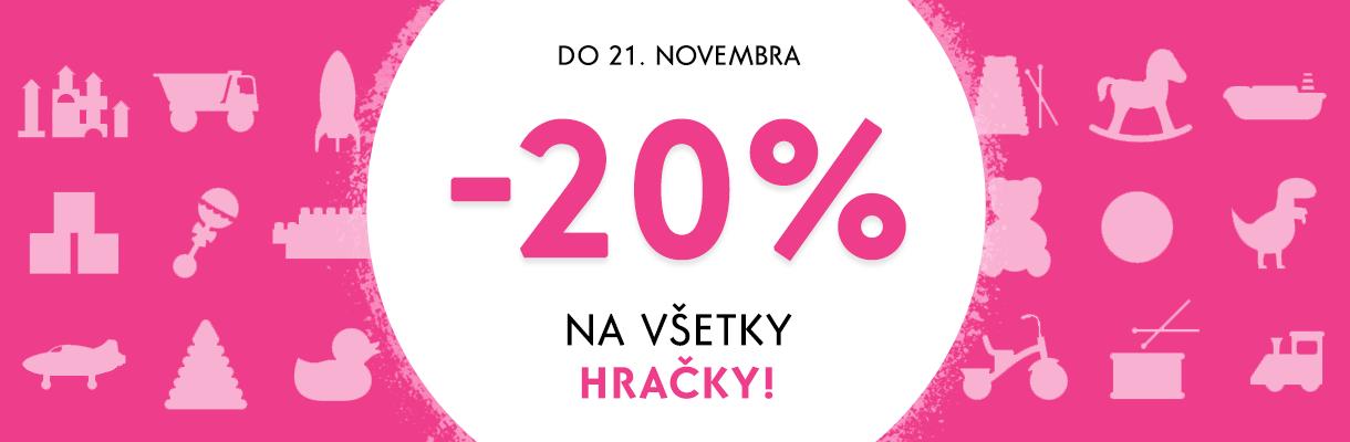 Týždeň hračiek -20%