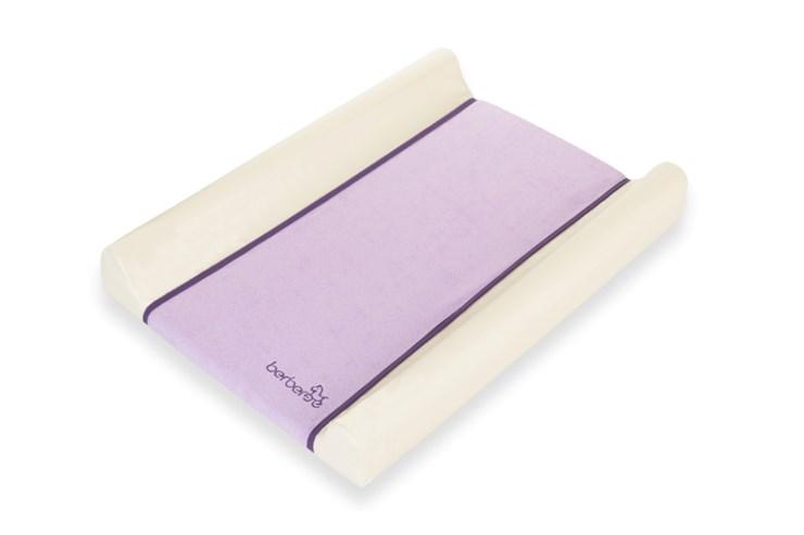 Berber Dino Plus Soft Terry Cover 50x70 Cream-Purple prebaľovacia podložka tvrdá - Brendon - 7817002