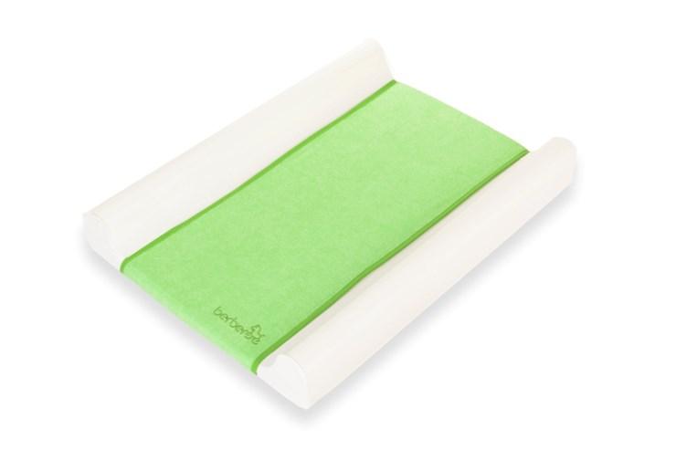 Berber Dino Plus Soft Terry Cover 50x70 White-Green prebaľovacia podložka tvrdá - Brendon - 7817102